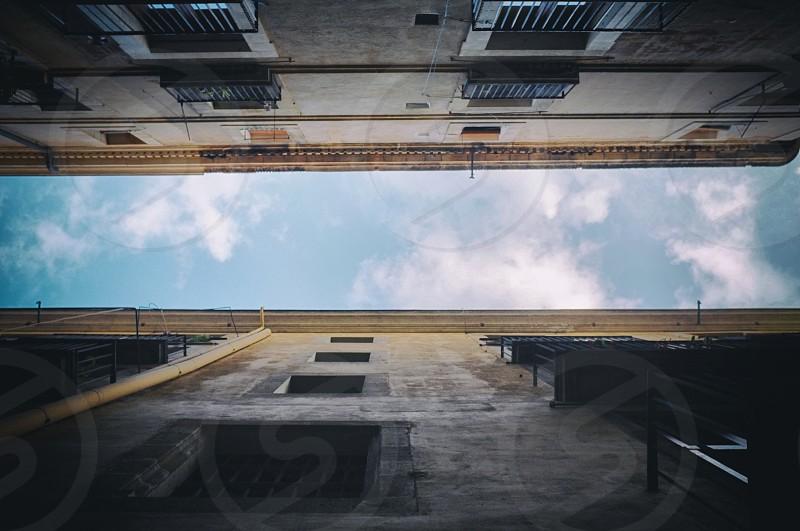 concrete high rise building photo