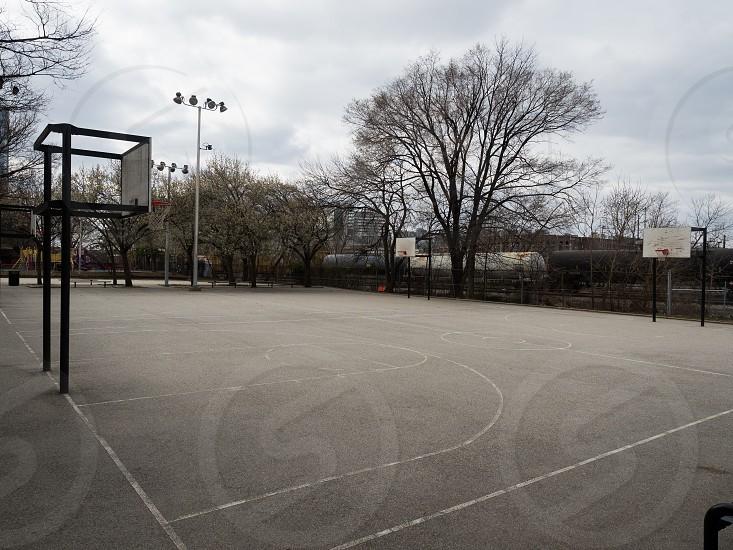 Popular neighborhood courts photo