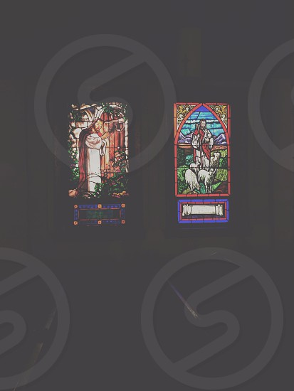 In love with stained glass windows 'til the end of time. photo
