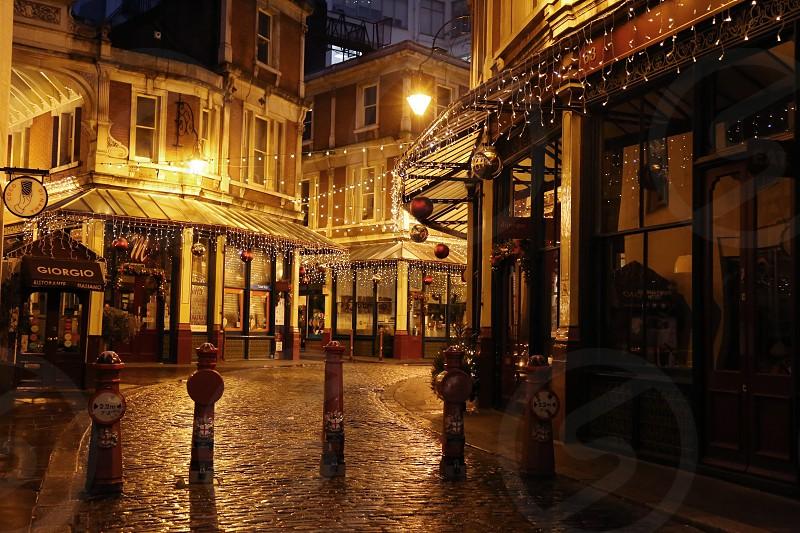 Leadenhall Market London. photo