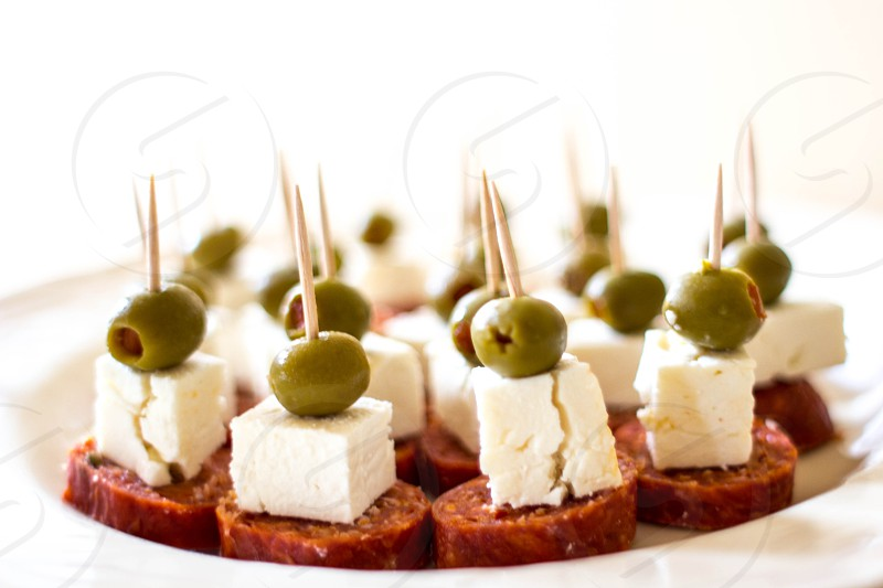 Meat Cheese and Olives photo