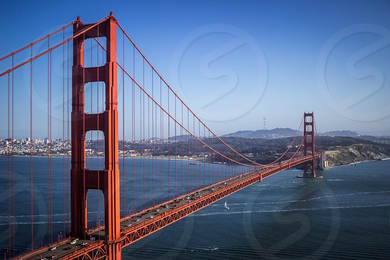Golden Gate Bridge - San Francisco CA. photo