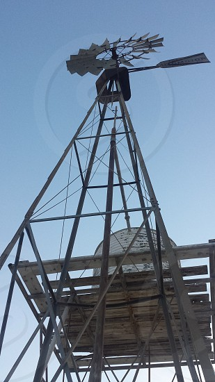 Windmill at Monahans Sandhills State Park photo