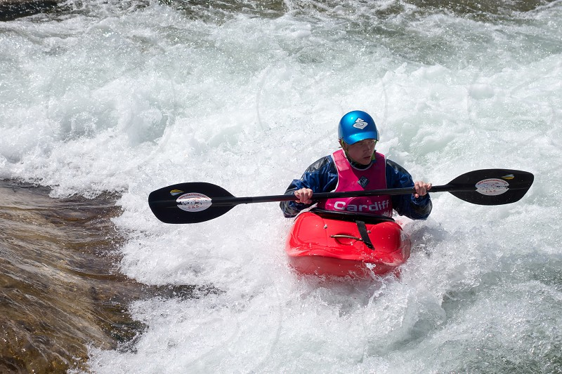 Water Sports at the Cardiff International White Water Centre photo