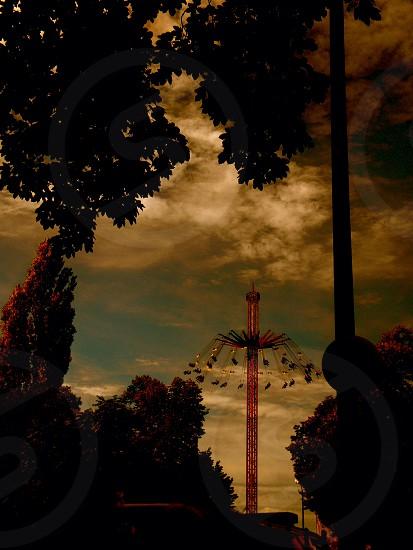 Tower Of Doom Oktoberfest Munich  photo