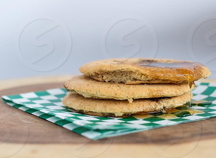Pancakes quinoa  photo