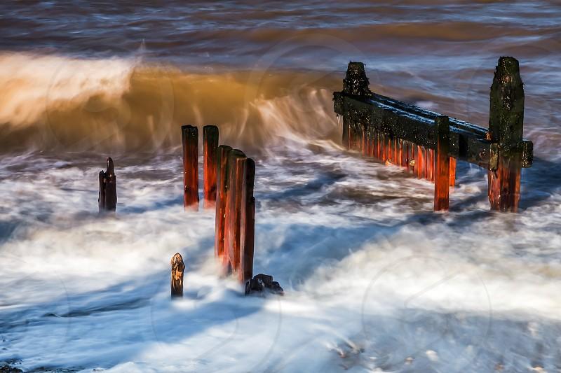 Reculver Sea Defences photo