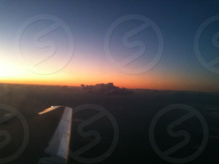 #atlanta#sunset#airport#usa photo