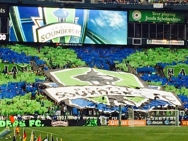 Seattle Sounders tifo photo