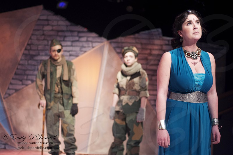 The University of Pittsburgh's production of Agamemnon. Photographed for Pitt Chronicle.  photo