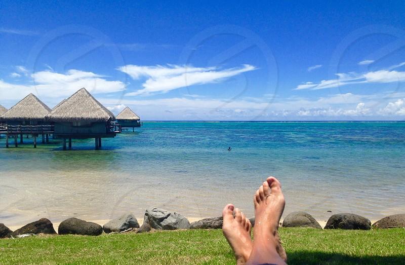 Tahiti bungalow photo