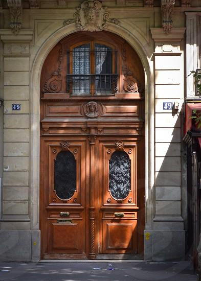 Door in Paris France photo