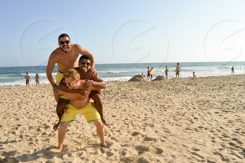 Vacation interracial Interracial Beach