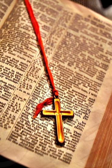 Vintage Bible photo
