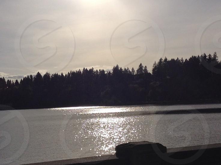 Capital lake Olympia Washington  photo