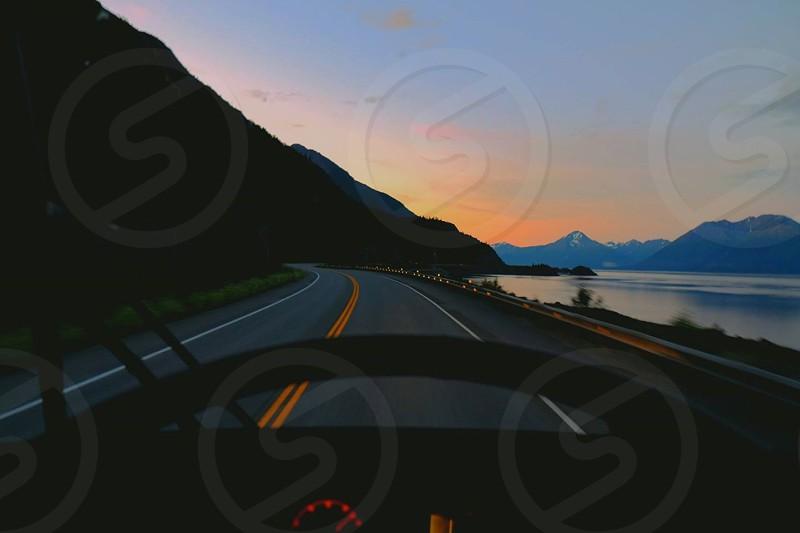 Alaska road trip photo