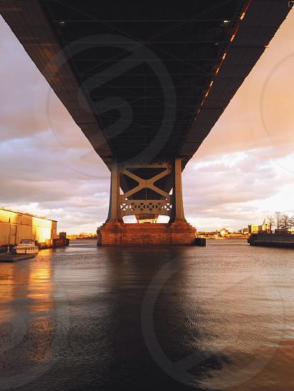 The view under the bridge  photo