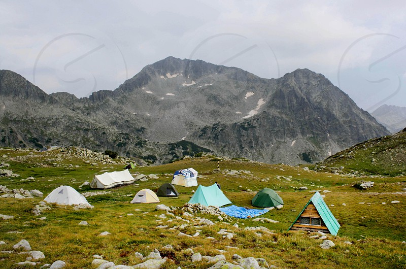Camping in Pirin mountain bulgaria photo