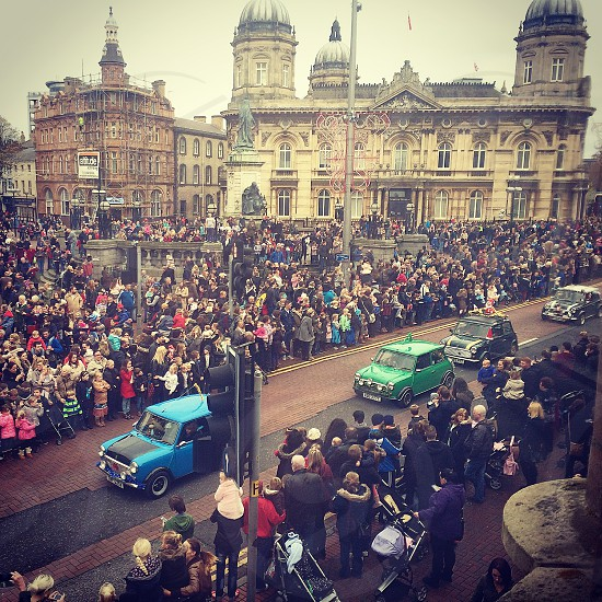 Hull mini coopers parade photo