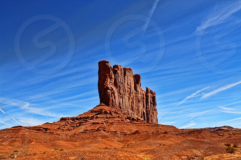 Red Rock mountain - Monument Valley AZ photo