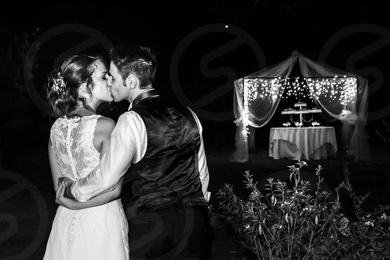 Wedding time detail photo