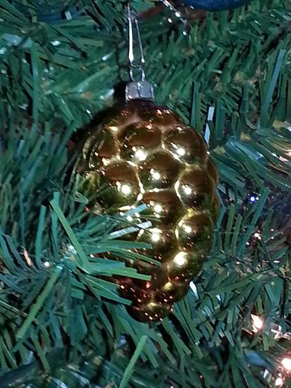Pinecone Christmas ornament photo