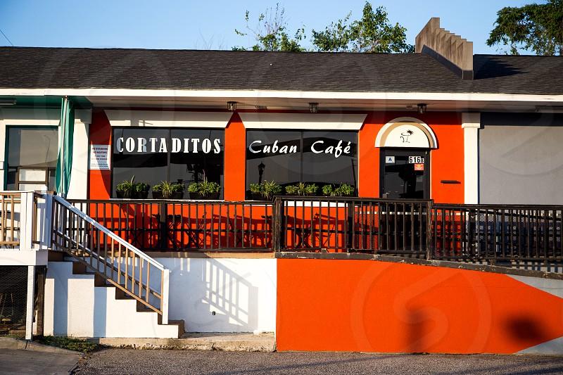 Cortadito's vibrant exterior. photo
