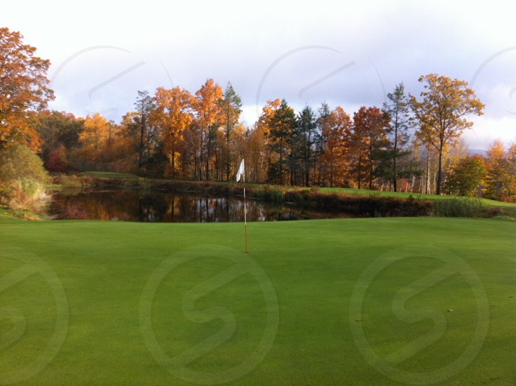 Fall Golf in New England photo