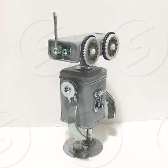 Found Objects Robot Sculpture Robot Sculpture art  photo