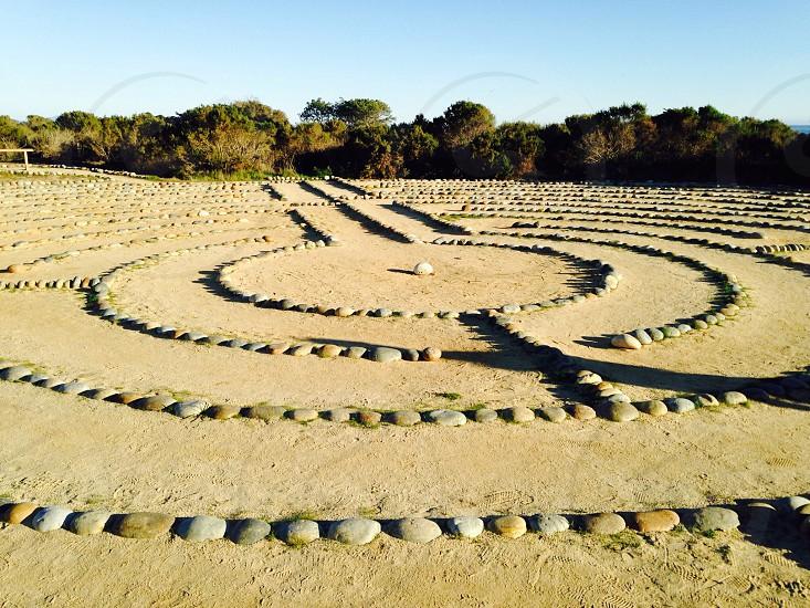 UCSB Labyrinth photo