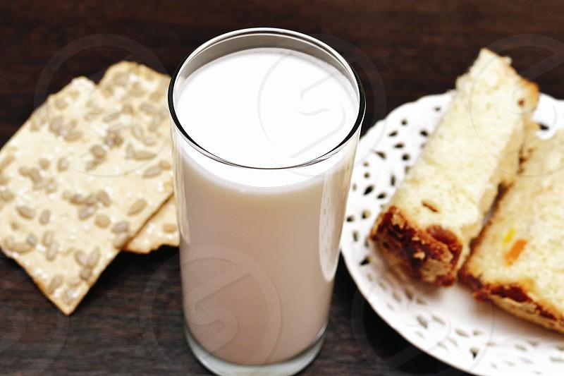 breakfast dinner table milk food eating fitness health photo