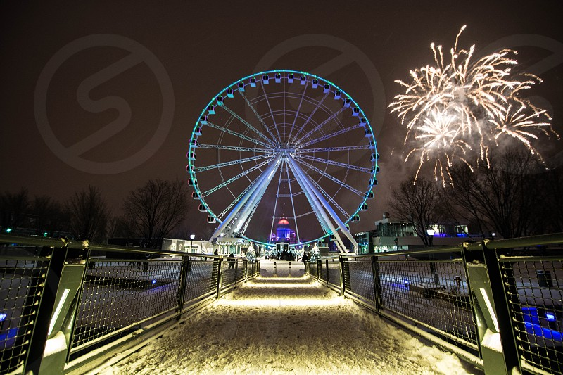 New Year Eve in Montreal Canada photo