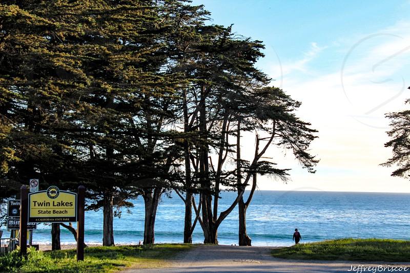 Twin Lakes beach photo