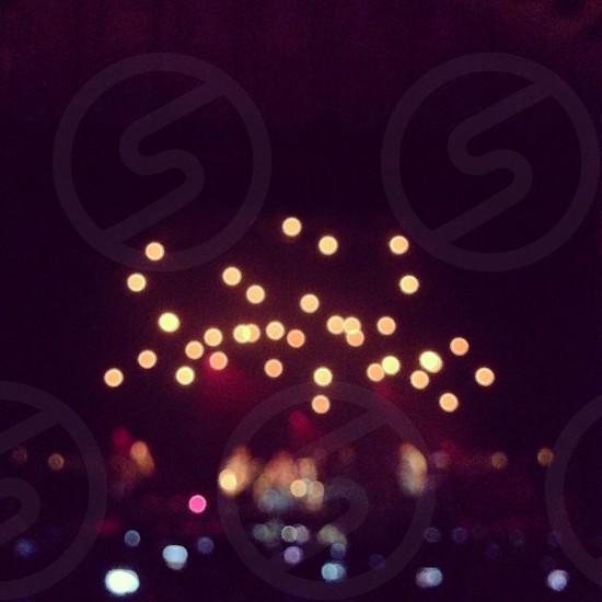lights at night photo