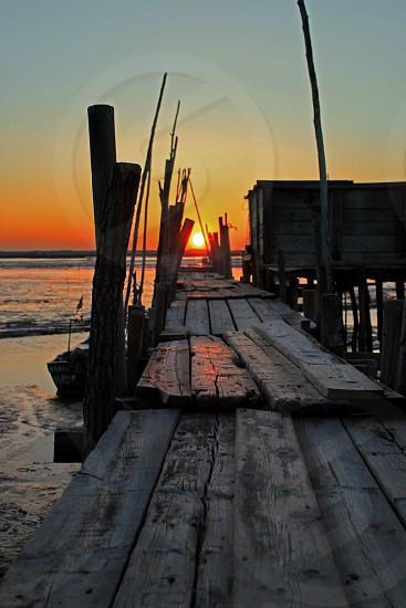 Wood Dock photo