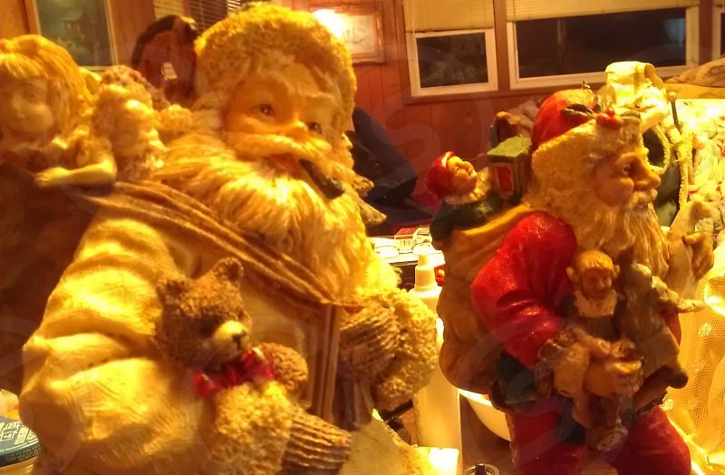 Santa Figurines photo