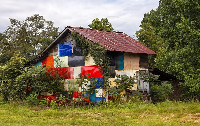 Barn - multicolored photo