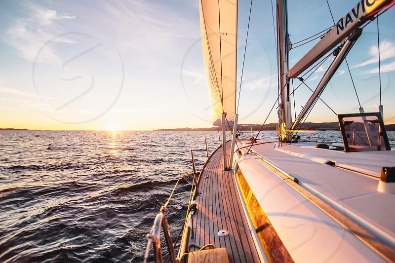 Yachts sea boating lifestyle  photo