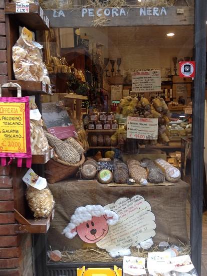 pastries on display photo