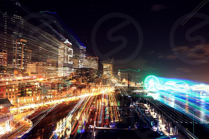 Seattle time machine photo