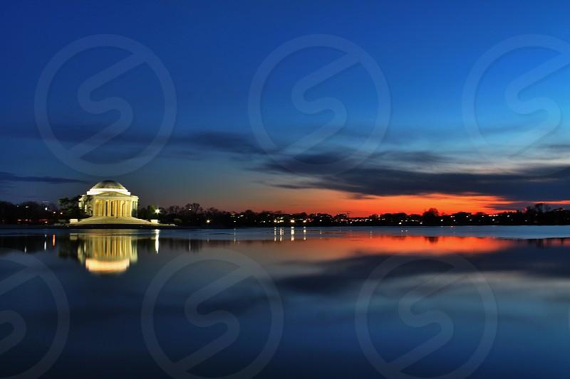 Jefferson memorial Washington D.C.  photo