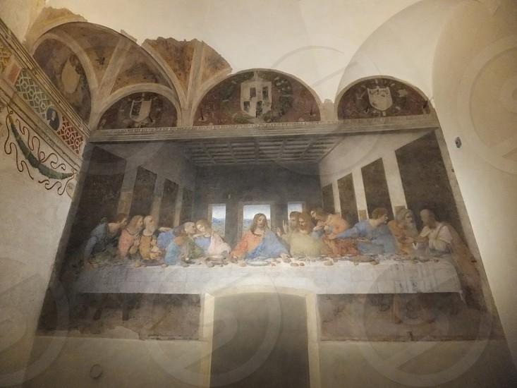 The Last Supper by Leonardo Da Vinci photo