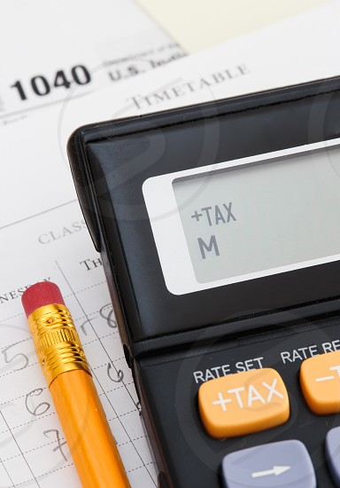 Time to fill individual income tax form photo