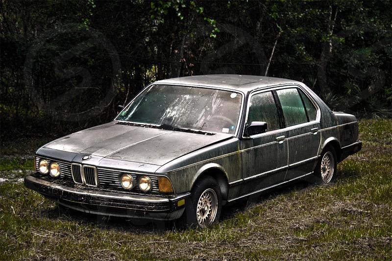 silver BMW photo