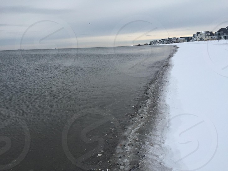 Snowy Beach photo