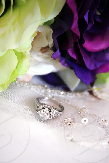 Dress flowers and The Ring photo