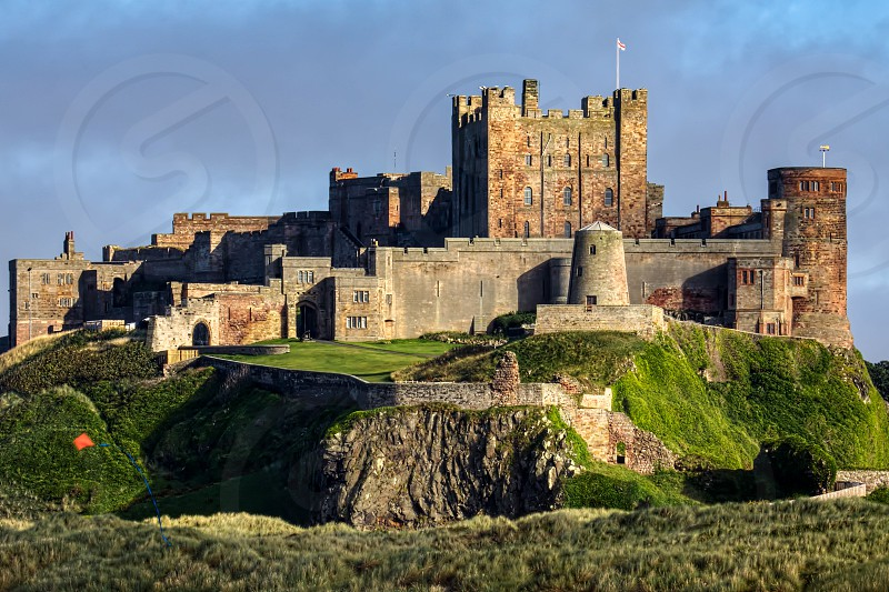 View of Bamburgh Castle photo