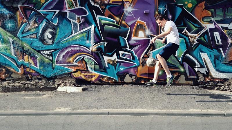 Street football  photo