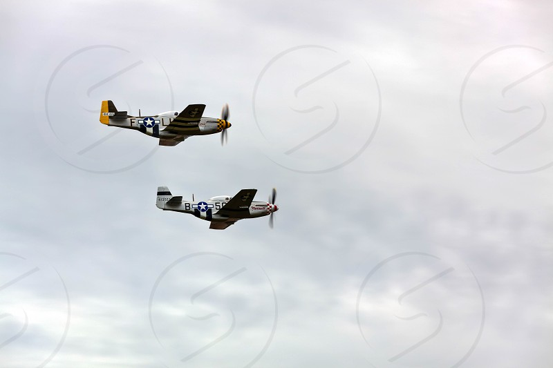 """North American P-51D Mustang """"Janie"""" and """"Marinell"""" photo"""