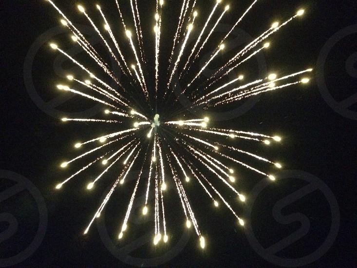 Fireworks in Michigan photo